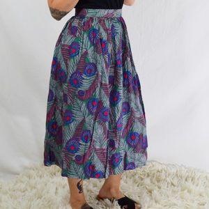 Dresses & Skirts - Festival Feather Print Dancing Skirt 💃🏻
